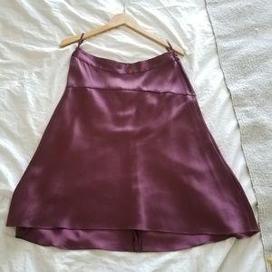 Banana Republic100% silk skirt